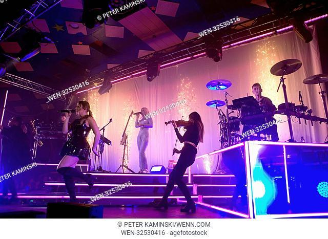 Clean Bandit start their UK tour at the Barrowlands Ballroom in Glasgow Featuring: Clean Bandit Where: Glasgow, Scotland