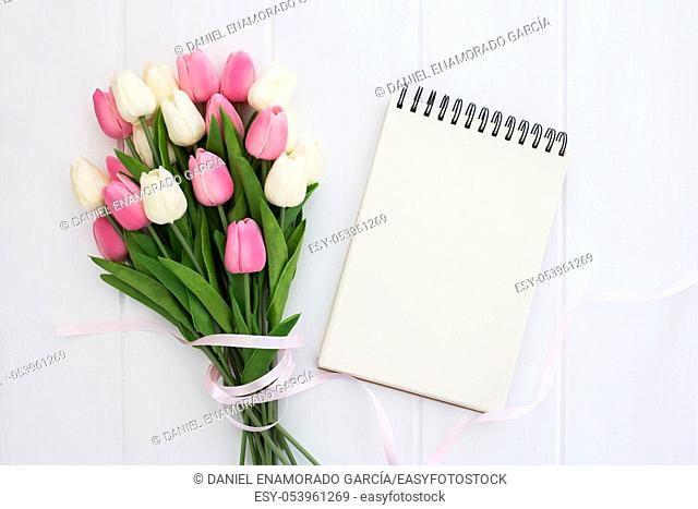 Beautiful composition to be used for mothers day and spring concept