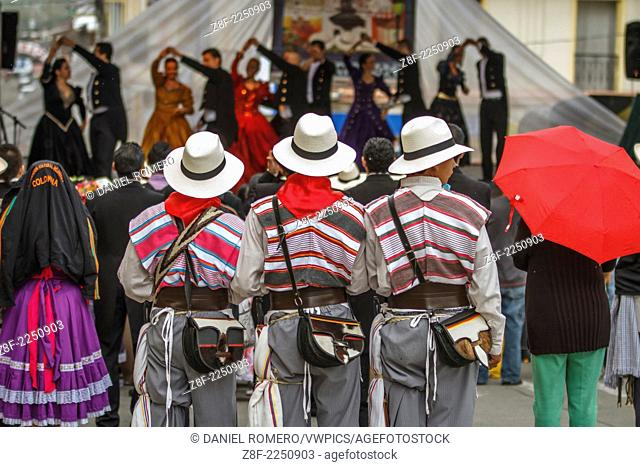 Boys Dressed Andean Traditional clothing