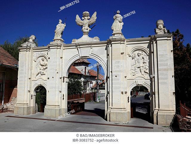 Gate I of the fortress of Alba Iulia, B?lgrad or Karlsburg, Alba Iulia, Balgrad, deutsch Karlsburg, Alba Iulia, B?lgrad, Karlsburg, Siebenbürgen, Romania