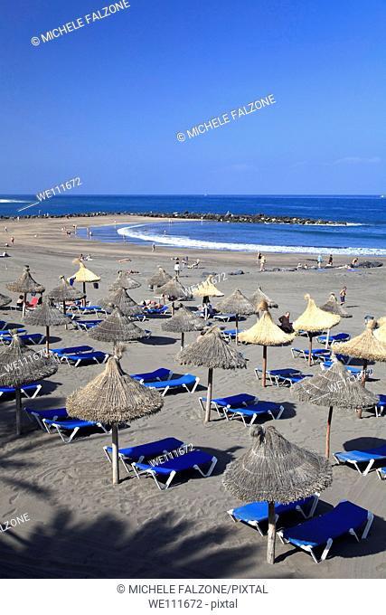 Canary Islands, Tenerife, Playa de Las Americas