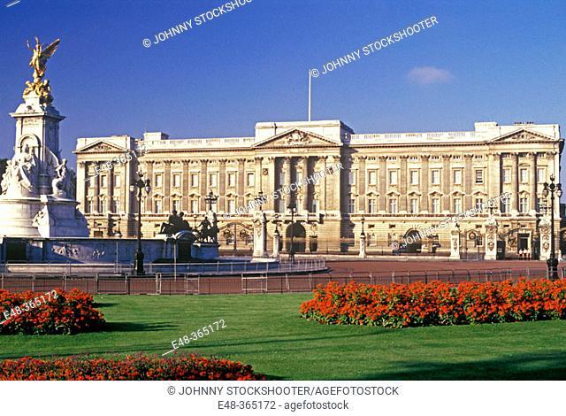 Buckingham Palace. London. England, UK