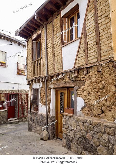Architecture, Arenas de San Pedro, Valle del Tiétar, Ávila province, Castilla-León, Spain