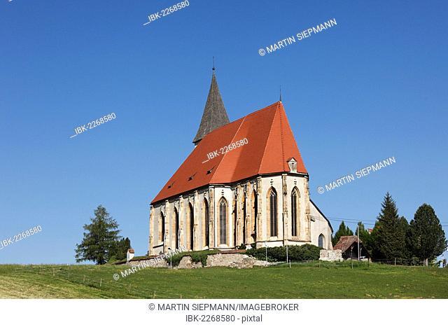 Parish church of Mary in Paradise, St. Marein near Knittelfeld, Upper Styria, Styria, Austria, Europe, PublicGround