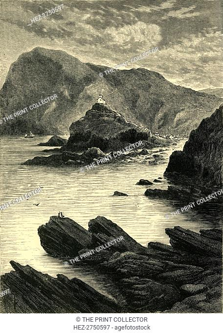 'Ilfracombe - View from the Rocks at the Base of the Capstone', 1898. Creator: Unknown