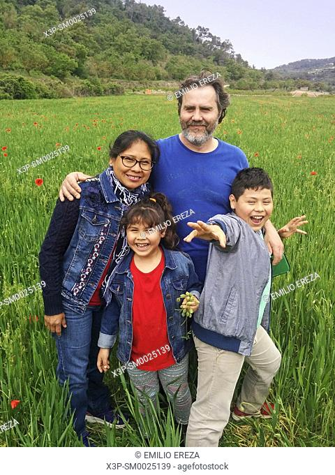 Interracial family