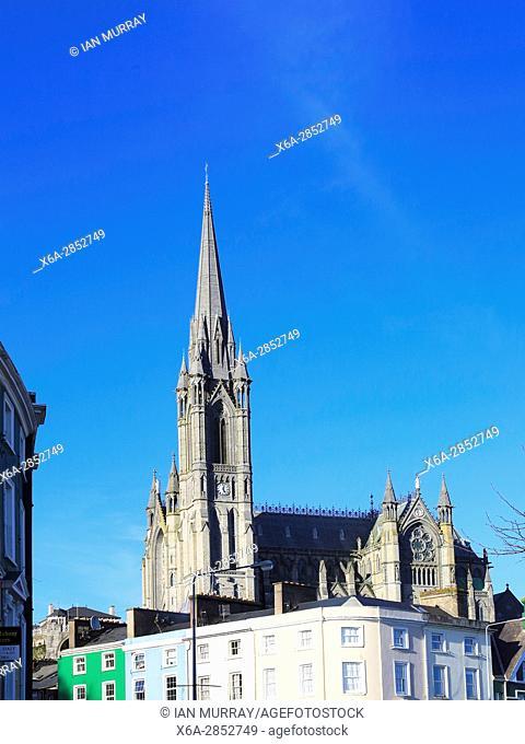 Saint Colman cathedral church, Cobh, County Cork, Ireland, Irish Republic