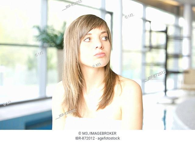 18-year-old girl at a spa