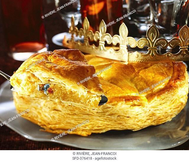 Galette des Rois Three Kings' cake for Epiphany, France