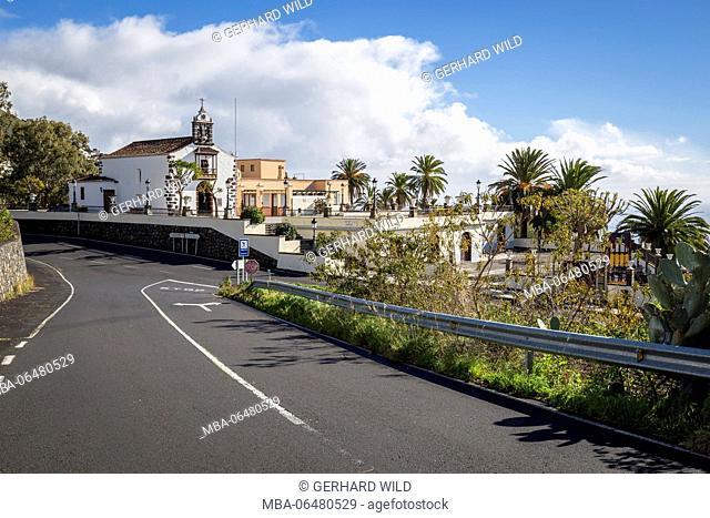 Church Nuestra Senora de Candelaria, La Palma, Canary islands, Spain
