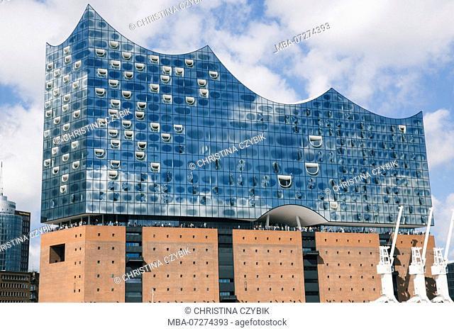 The Elbphilharmonie, Hamburg and the Port, Germany