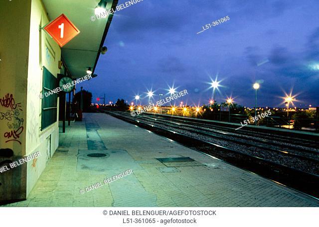 Train station. Valencia. Spain