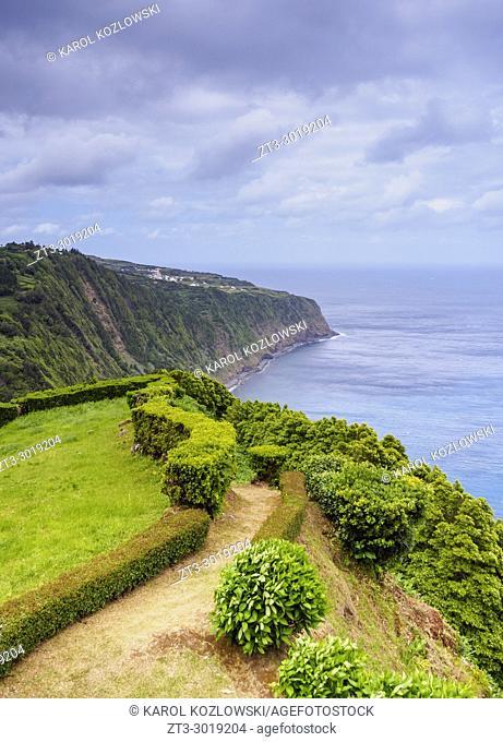 Miradouro da Ponta da Madrugada, view point, Sao Miguel Island, Azores, Portugal