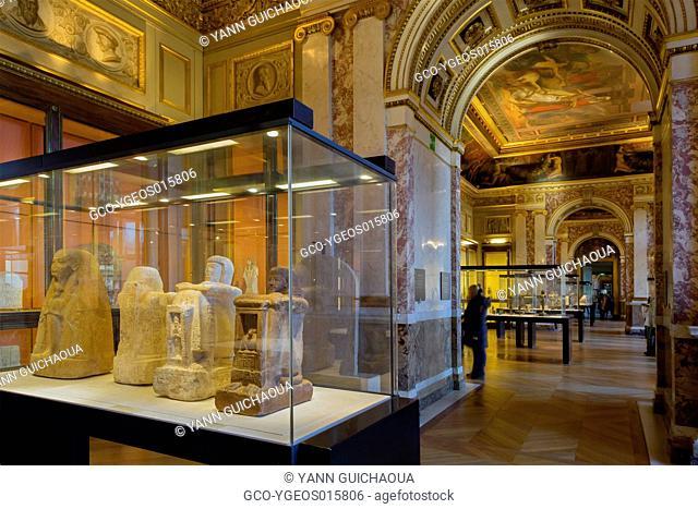 Louvre Museum, Egyptian Section, Paris, France