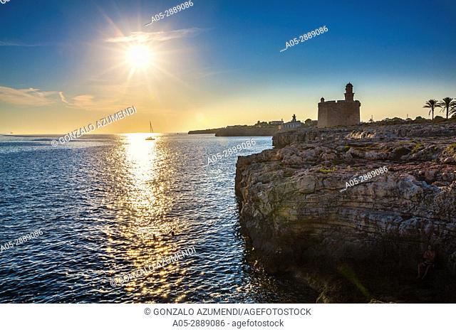 San Nicolas Castle. Ciutadella. Minorca. Balearic Islands. Spain
