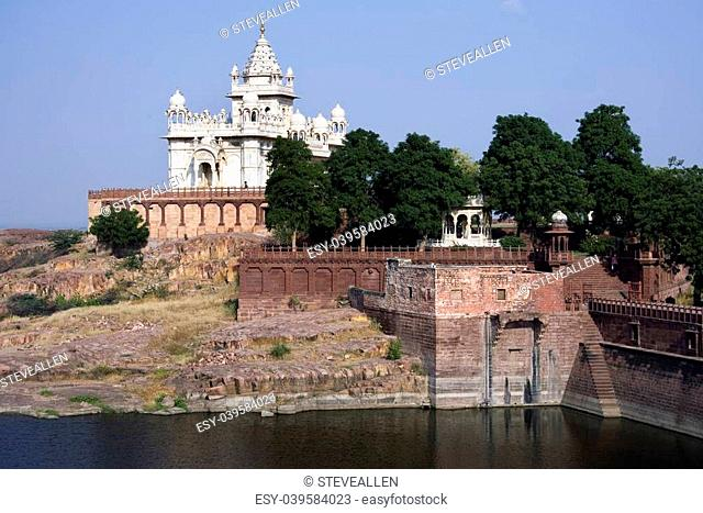 Jaswant Thada - The Cenotaph of Maharaja Jaswant Singh the Second - Jodhpur in Rajasthan