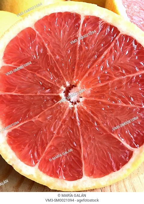 Grapefruit, close view