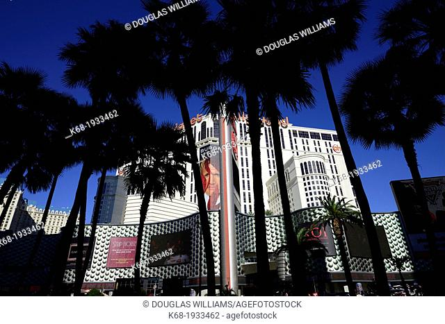 Planet Hollywood, hotel and casino, on The Strip in Las Vegas, Nevada, USA