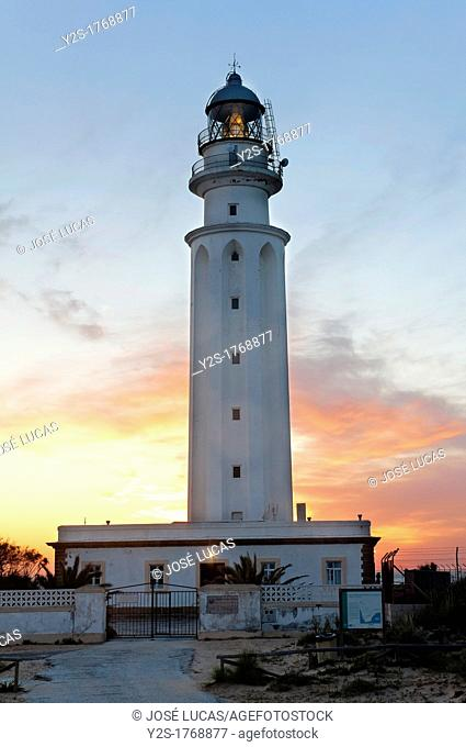 Trafalgar lighthouse, Barbate, Cadiz-province, Spain