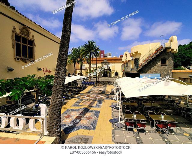 Pueblo Canario(Canarian Village) in Las Palmas, Gran Canaria