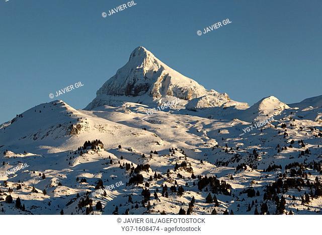 Anie mountain, Pirenees, France