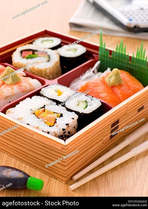snack, sushi, maki, sashimi