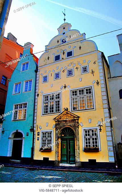 Lettland, Riga, 12.08.2017 Riga ist die Hauptstadt Lettlands und mit rund 700.000 Einwohnern groeßte Stadt des Baltikums