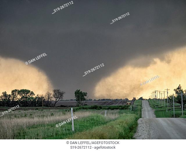 Tornado Near Chapman Kansas
