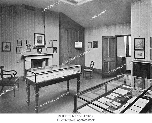 'The Attic Study, Carlyle House, Chelsea', 1904. Carlyle's House, in the district of Chelsea, in central London, England