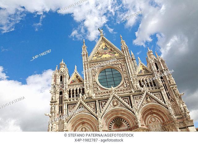 Duomo di Siena, Cathedral of Siena, Siena, Tuscany, Italy
