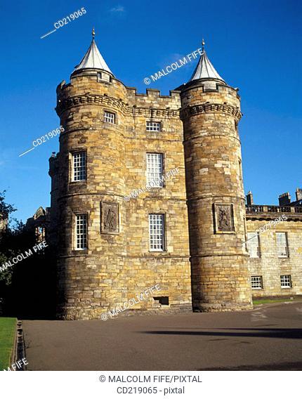 Holyrood Palace. Edinburgh. Scotland