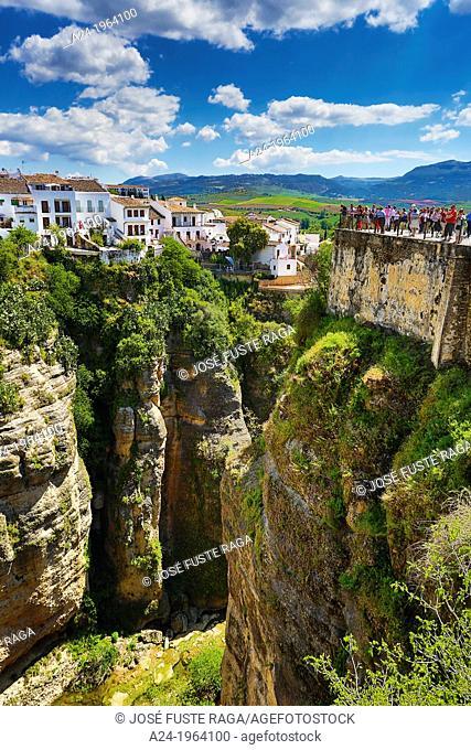 Spain , Andalucia Region, Malaga Province , Ronda City