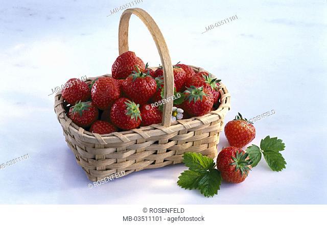 Basket, Strawberries