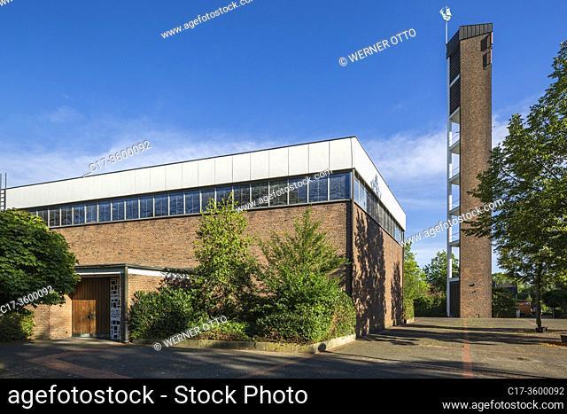 Dorsten, Hardt, D-Dorsten, D-Dorsten-Hardt, Lippe, Ruhr area, Hohe Mark Westmuensterland Nature Park, Muensterland, Westphalia, North Rhine-Westphalia, NRW