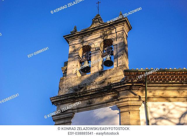 Chapel of the Virgin Mary next to Lar De Santa Estefania (Home of Santa Estefania) building, former convent of the Carmelites in Guimaraes, Portugal