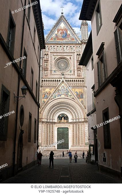 Orvieto Cathedral  Orvieto, Terni Province, Umbria, Italy
