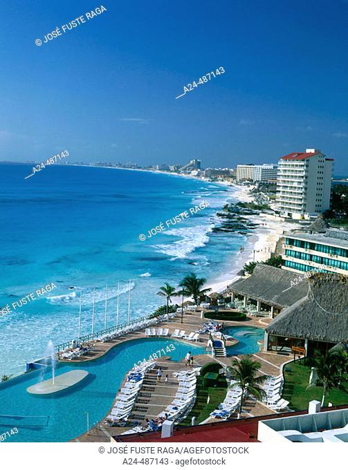 Hotel. Cancun, Mexico