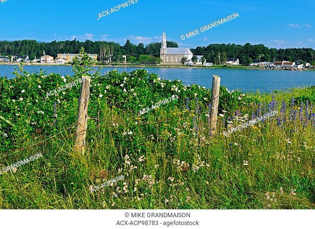 E'glise Saint-Louis L'Isle-aux-Coudres Quebec Canada