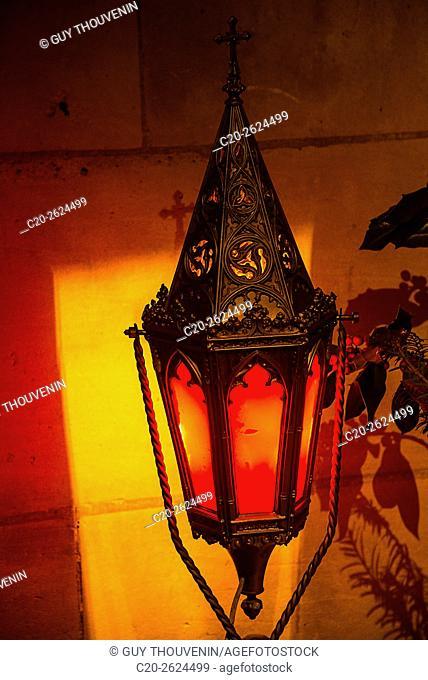 Red lantern, Bernay, 27, Normandy, France