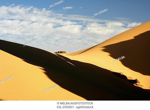 Oued Tin Tarabine. Tassili Ahaggar. Sahara desert. Algeria