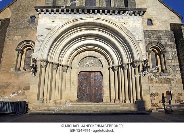 Abbaye Saint Sever Saint-Sever, Landes, Aquitaine, South of France, France, Europe