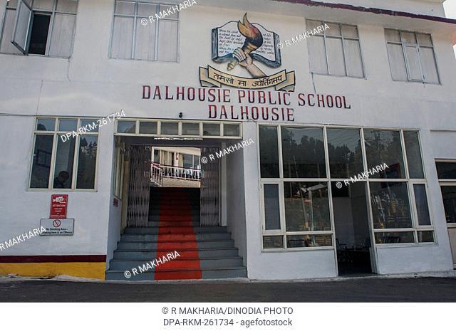 Dalhousie Public School campus, himachal pradesh, India, Asia