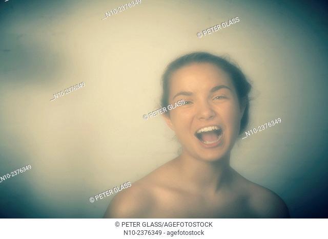 Fifteen year-old teenage girl