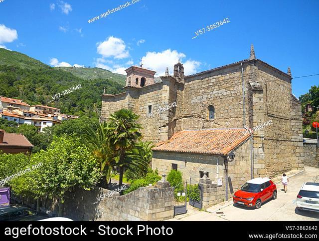 Santa Maria church. Cuevas del Valle, Avila province, Castilla Leon, Spain