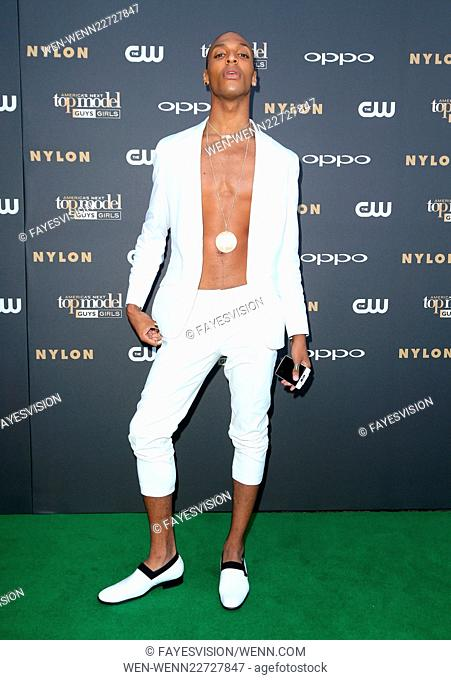 'America's Next Top Model' Cycle 22 Premiere Party Presented By OPPO And NYLON Featuring: Devin Clark Where: Los Angeles, California