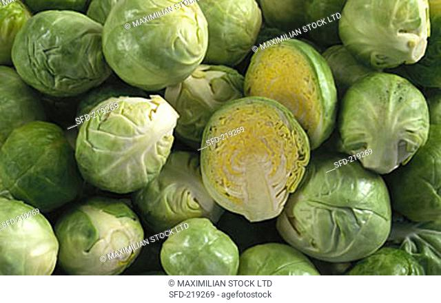 Brussels sprouts (filling the picture)