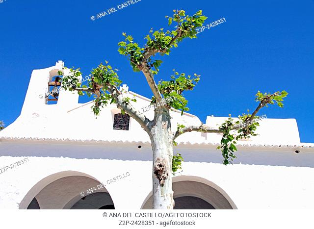 Sant Carles de Peralta church Ibiza island Spain