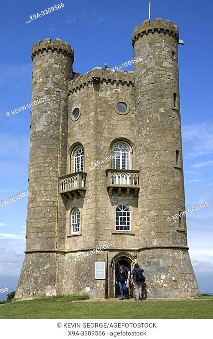 Broadway Tower Folly, Cotswolds; Worcestershire; England; UK