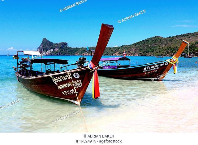 Thailand Krabi Phi Phi Islands Koh Phi Phi Don Loh Dalam Bay