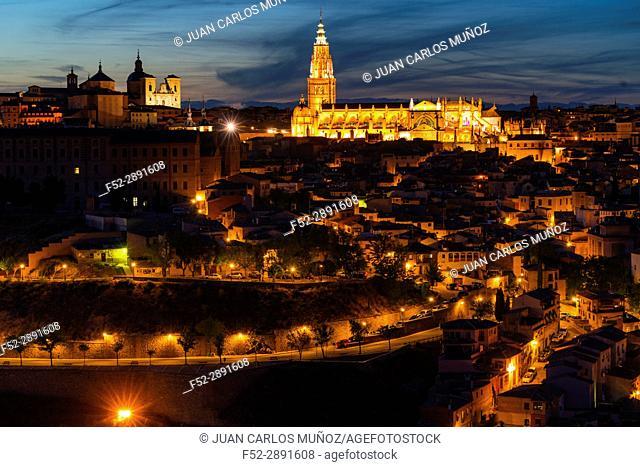 Primate Cathedral of Saint Mary of Toledo, Toledo city, Toledo, Castilla-La Mancha, Spain, Europe